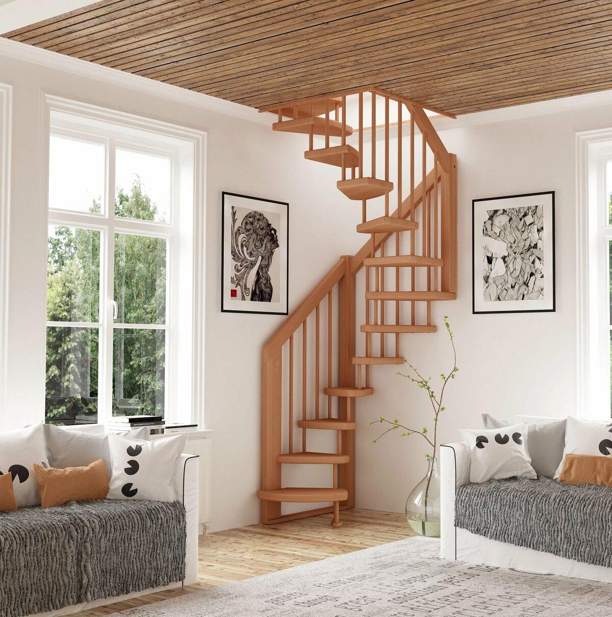 Лестница на мансарду фото дизайн вязания объемного