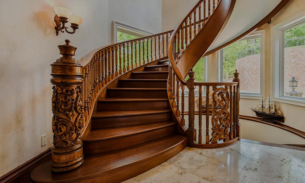 деловой части дубовые лестницы фото создания